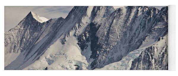 Mount Herschel Above Cape Hallett Yoga Mat