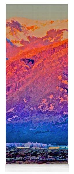 Mt Wheeler At Sunset Yoga Mat