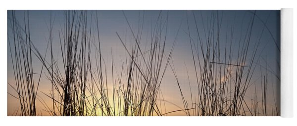 Nachusa Grasslands Sunset Yoga Mat