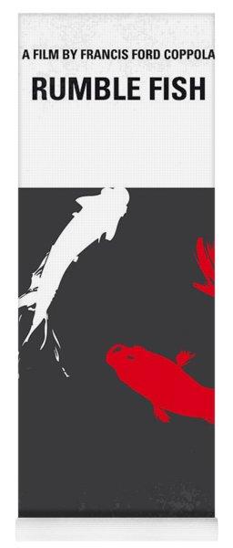 No073 My Rumble Fish Minimal Movie Poster Yoga Mat