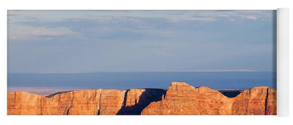 North Rim At Sunset Yoga Mat