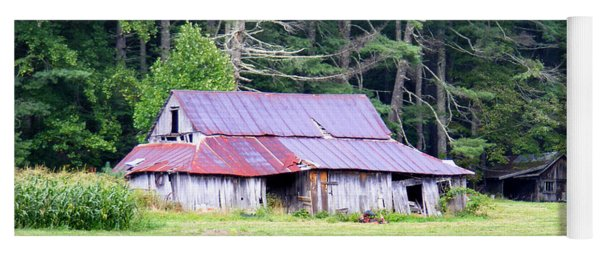 Old Barn Near Cashiers Nc Yoga Mat