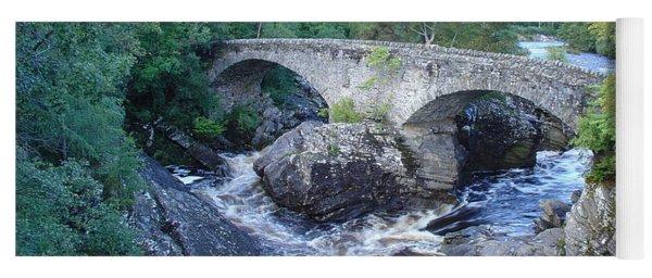 Old Bridge At Invermoriston Yoga Mat