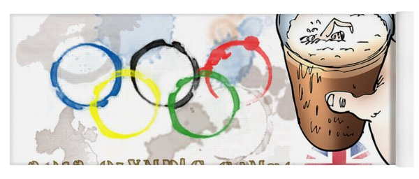 Olympic Rings Yoga Mat