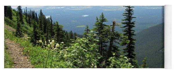 Panoramic Jewel Basin Montana Yoga Mat