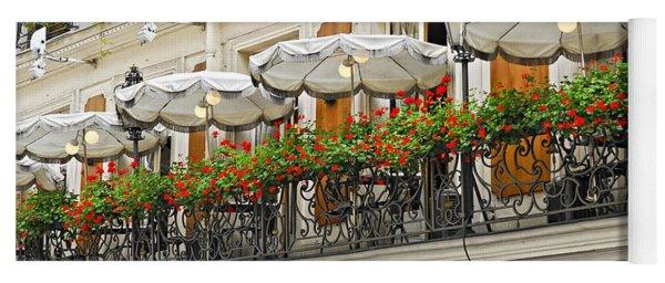 Paris Cafe Yoga Mat