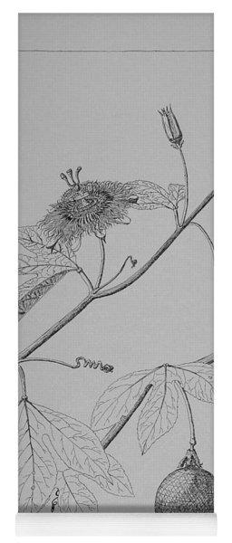 Passionflower Vine Yoga Mat