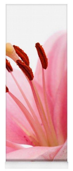 Pink Lilies 02 Yoga Mat