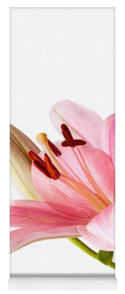 Pink Lilies 06 Yoga Mat