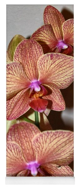 Pink Orchid Yoga Mat