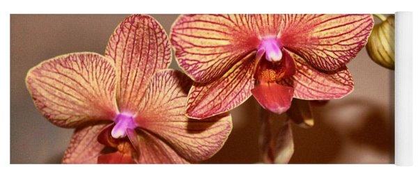 Pink Orchid2 Yoga Mat