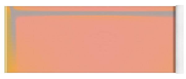 Pink Yellow And Grey Yoga Mat