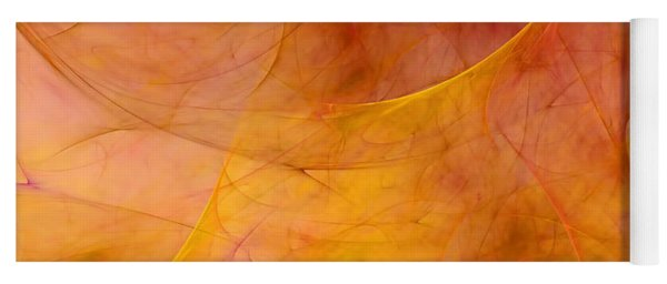 Poetic Emotions Abstract Expressionism Yoga Mat