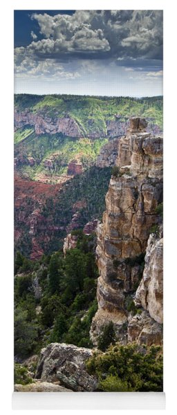 Point Imperial Cliffs Grand Canyon Yoga Mat