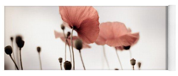 Poppy Flowers 16 Yoga Mat