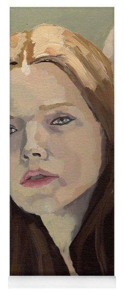 Portrait Of Ashley Yoga Mat