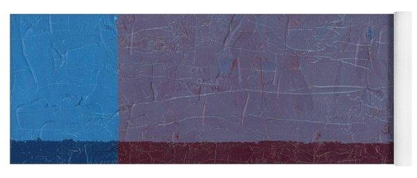 Purple And Blue Yoga Mat