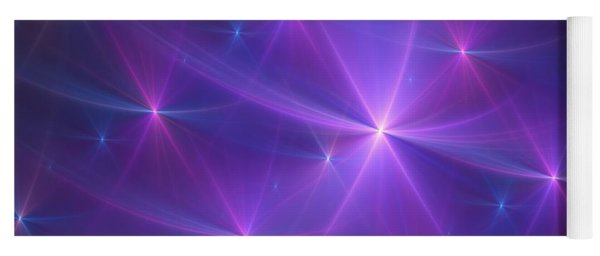 Purple Dreams Yoga Mat