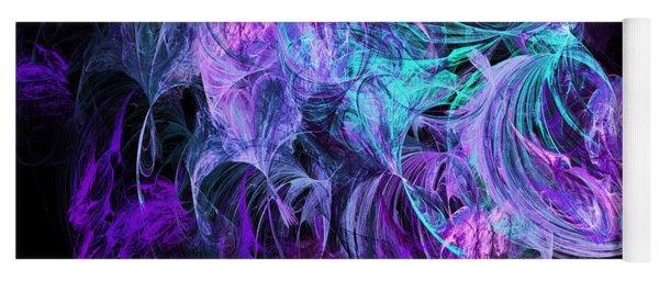 Purple Fusion Yoga Mat