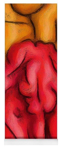 Red Herring Yoga Mat