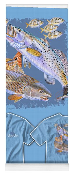 Red Trout Yoga Mat