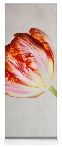 Red Tulip Yoga Mat