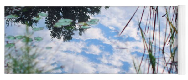 Reflections Of The Sky Yoga Mat