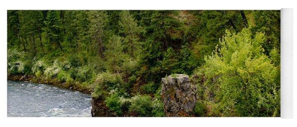 Rockin The Spokane River Yoga Mat