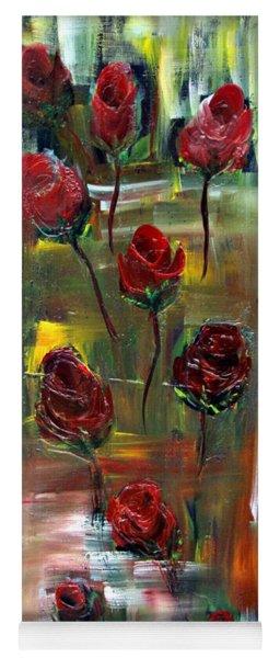 Roses Free Yoga Mat