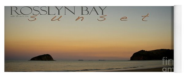 Yoga Mat featuring the photograph Rosslyn Bay Sunset by Vicki Ferrari