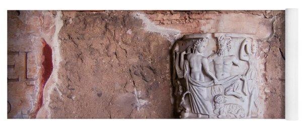 Ruins In Pisa Yoga Mat