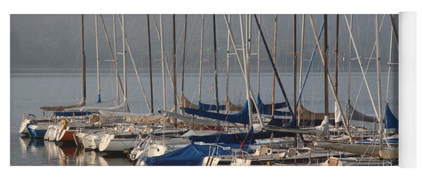 Sail Boats Yoga Mat