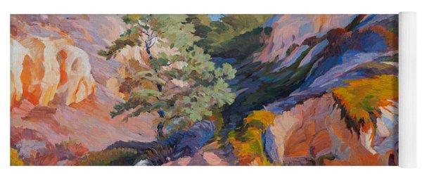 Sandstone Canyon At Torrey Pines Yoga Mat