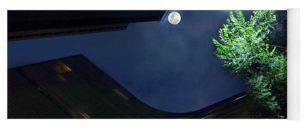 Copan Building And The Moonlight Yoga Mat