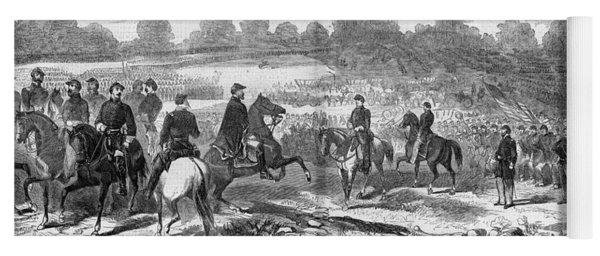 Seven Days Battles, 1862 Yoga Mat