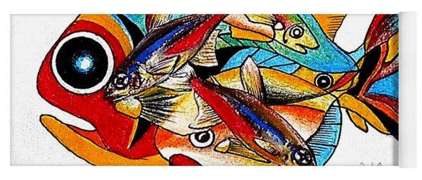 Seven Fish Yoga Mat