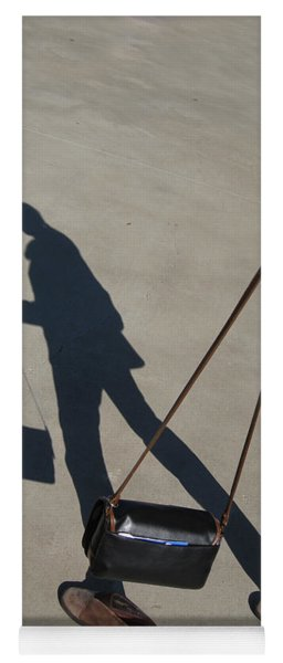 Shadowing Me Yoga Mat