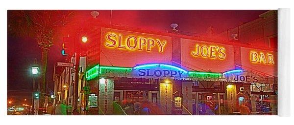Sloppy Joes Yoga Mat