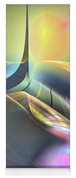 Spiritus Nocturnus - Abstract Art Yoga Mat