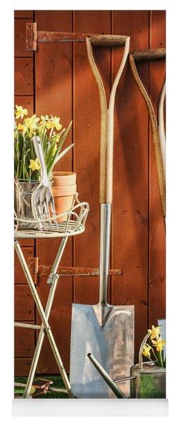 Spring Gardening Yoga Mat