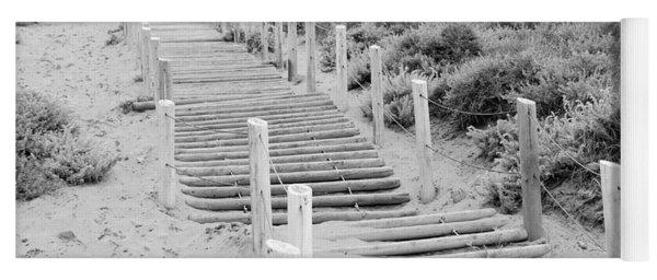Stairs At Baker Beach Yoga Mat