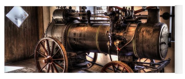 Steam Engine Yoga Mat