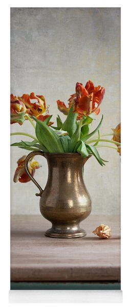 Still Life With Tulips Yoga Mat