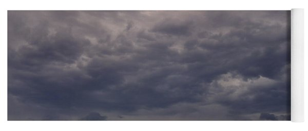 Storm Over The Mesa Yoga Mat
