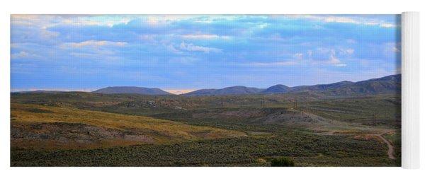 Stormy Wyoming Sunrise I Yoga Mat