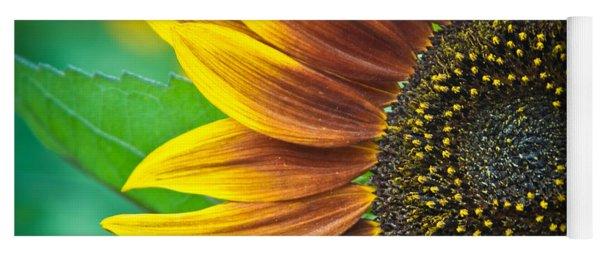 Sunflower Beauty Yoga Mat