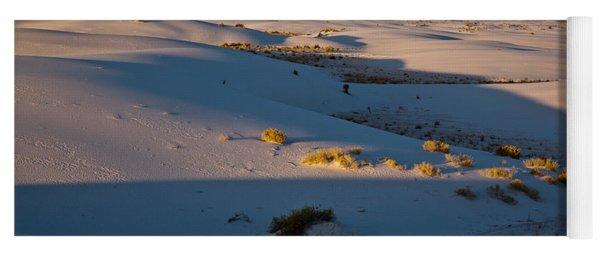 Sunrise At White Sands National Monument Yoga Mat