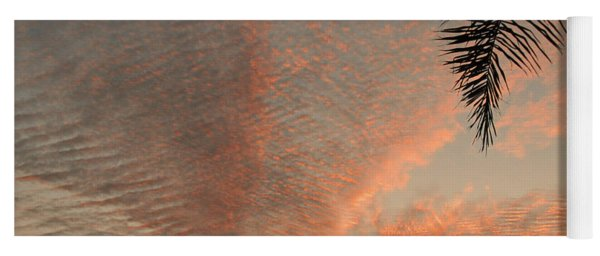 Sunset In Lace Yoga Mat