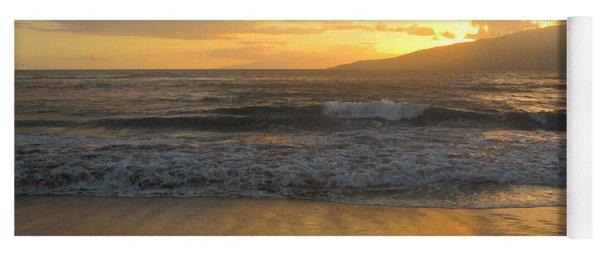 Sunset On Maui Yoga Mat