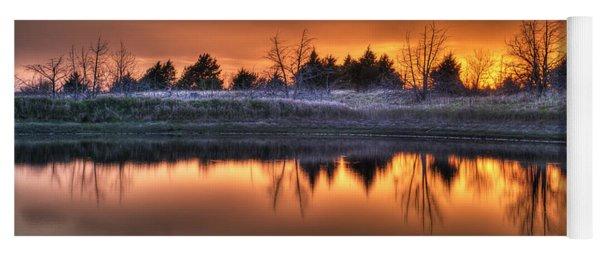 Sunset Over Bryzn Yoga Mat
